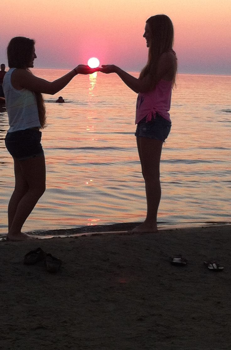 Me and my bestfriend at the beach. One of the best days I've had in a while :)
