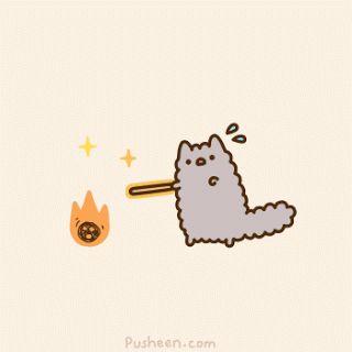 pusheen cat gif | Pusheen Cat Gifs! ♥