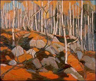 Birch Grove, Autumn -Tom Thomsen
