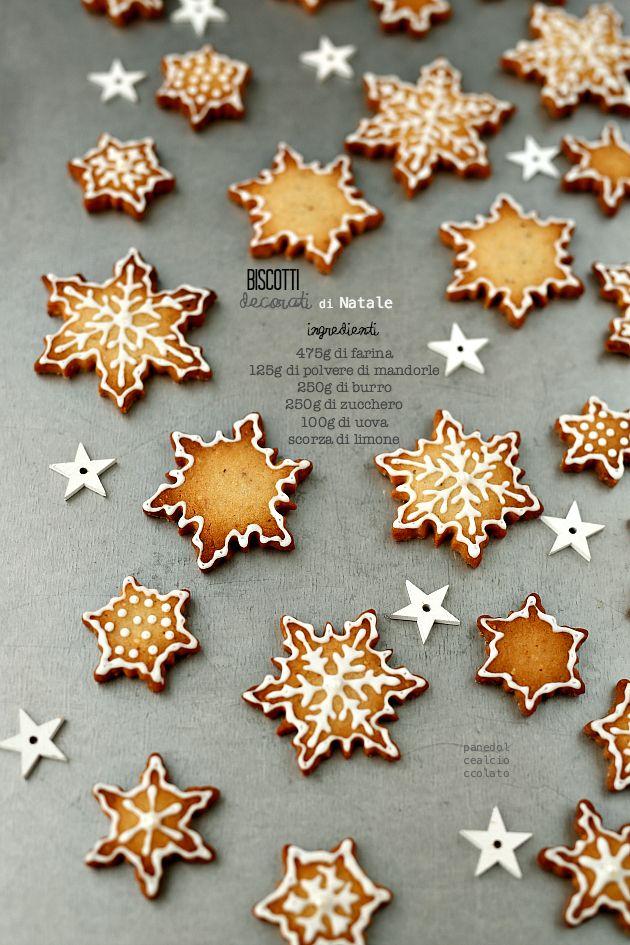 PANEDOLCEALCIOCCOLATO: biscotti con pasta frolla napoli decorati con glassa