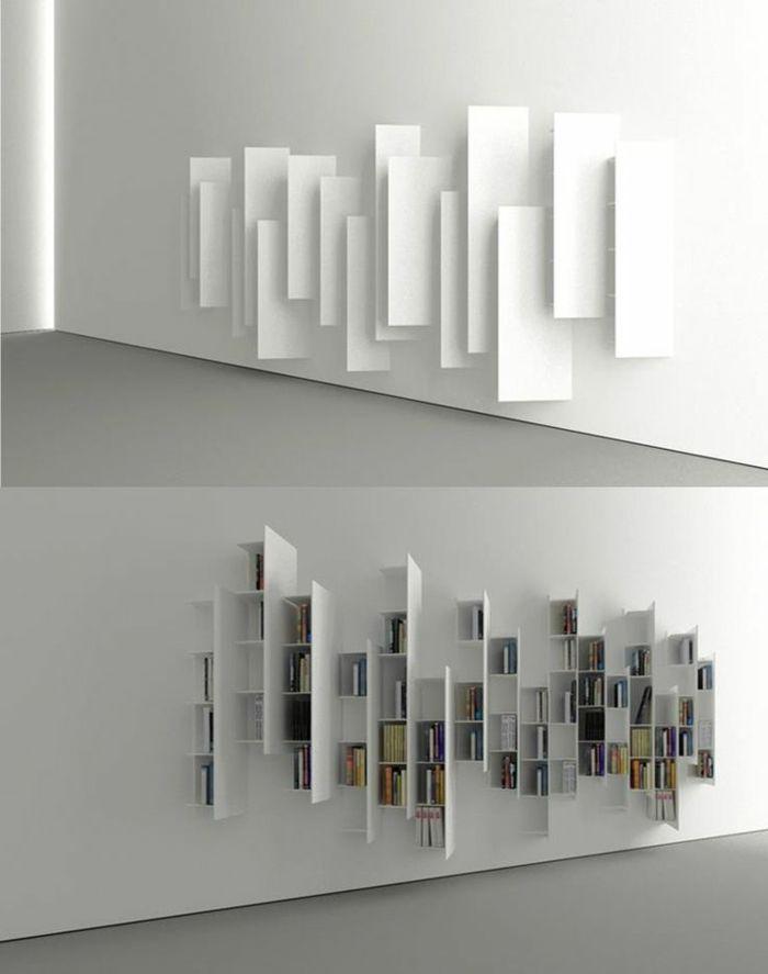 auffälliges modell regalsystem in weiß - super schön
