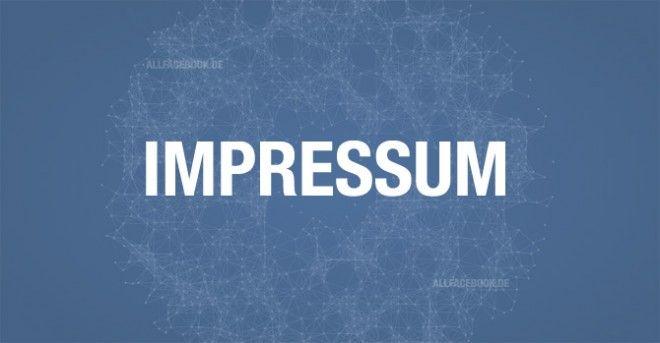 Tipps, wie man seine Facebook-Seite in Punkto Impressum abmahnsicher manchen kann, hat das Team von www.allfacebook.de zusammengestellt.