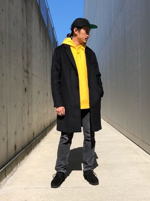 毎年人気のチェスターコートが入荷しております! 厚手のメルトンで上品に着てもよし、カジュアルに着ても