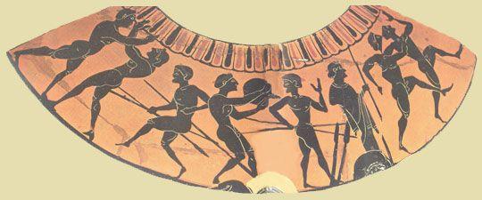 Σελίδες Ιστορίας και Επιστήμης: Μουσείο Ιστορίας των Ολυμπιακών Αγώνων της Αρχαιότητας Πένταθλον