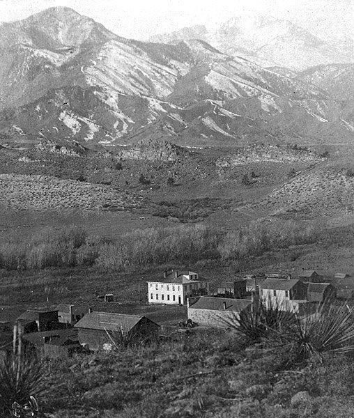 Old Colorado City in 1860