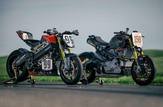 Компания Victory представила мотоциклы для участия в Пайкс Пик 2016