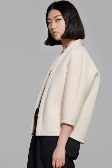 Coat in kimono style