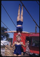 German girls with Ringling Circus