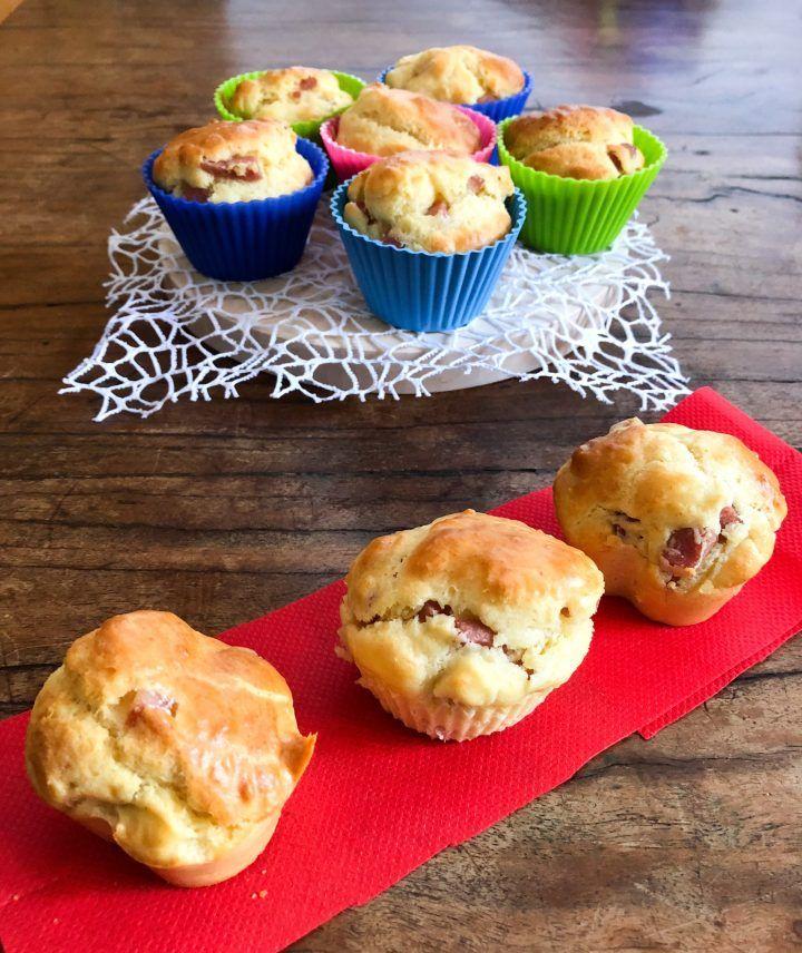 Muffin rustici con la mortadella