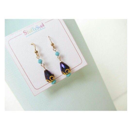 Anting Handmade / Anting Tetes Air Mata / Beaded Earring / Jewel / Aksesoris