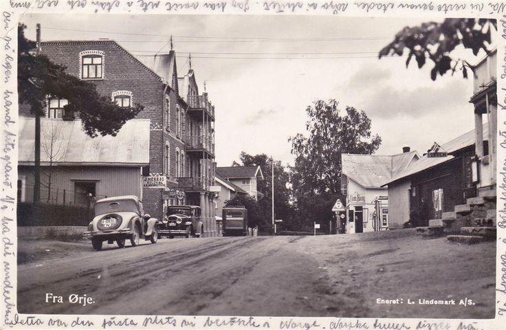 NORGE FRÅN ÖRJE GAMLA BILAR MM. 1934