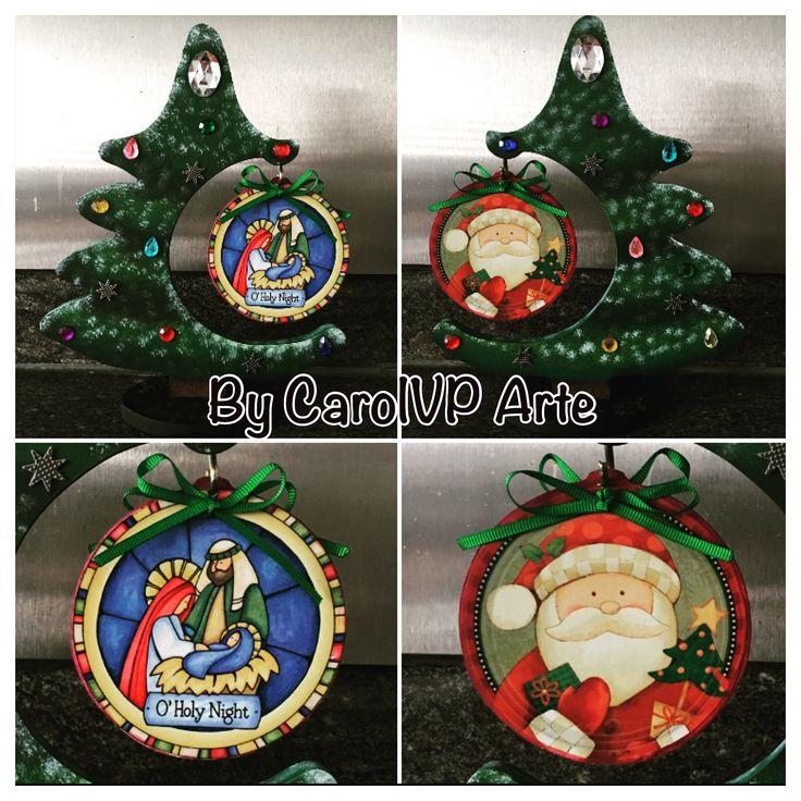 Árbol de Navidad decorativo by CarolVP Arte