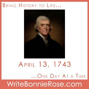 Timeline Worksheet: On April 13, 1743, former president and founding father Thomas Jefferson was born. My printable gives you some background about his early life and then presents a true and false quiz about his later life. Research questions are included for further study.