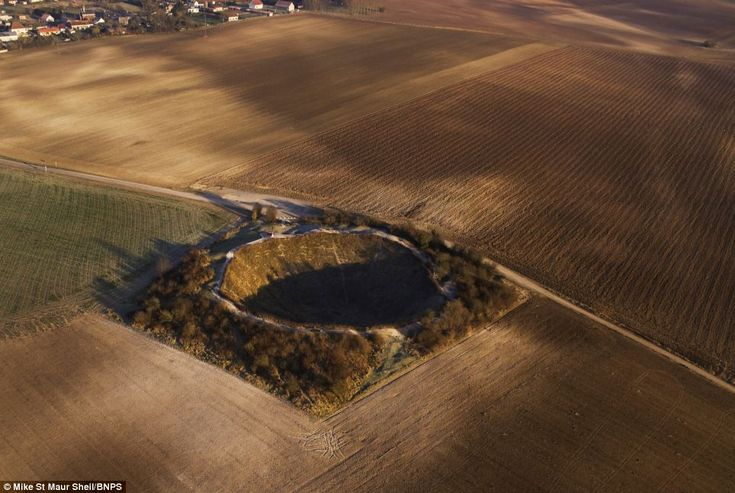 Lochnagar Crater at the Somme as it is today. The picture is part of a collection of World War One landscapes which still bear the signs of war damage. © Michael St Maur Sheil. Inspiration for The Soldiers' Charity Garden at RHS Chelsea 2014