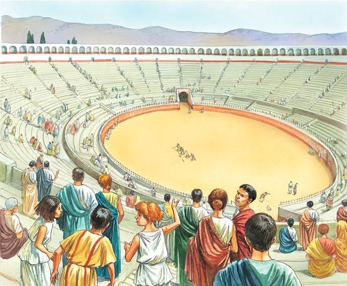 6e. Gladiators, Chariots, and the Roman Games