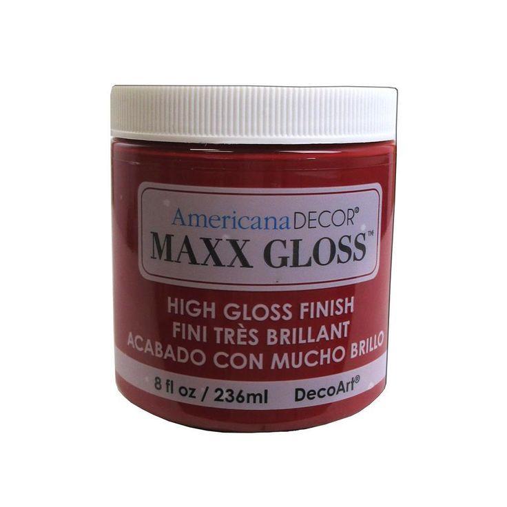 Decoart Americana Maxx Gloss 8oz Garnet Stone