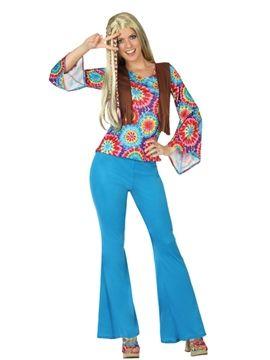 Disfraz de Mujer Hippie