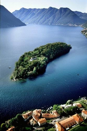 Isola #Comacina, province of Como , #Lombardy region Italy