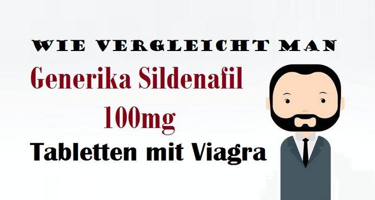 Wie vergleicht #manGenerika Sildenafil 100mg Tabletten mit Viagra  #GenerikaSildenafil #Sildenafil100mg #GenerikaTabletten