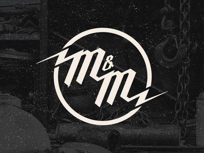 M&M Logo by Nick Pascuzzi - Dribbble