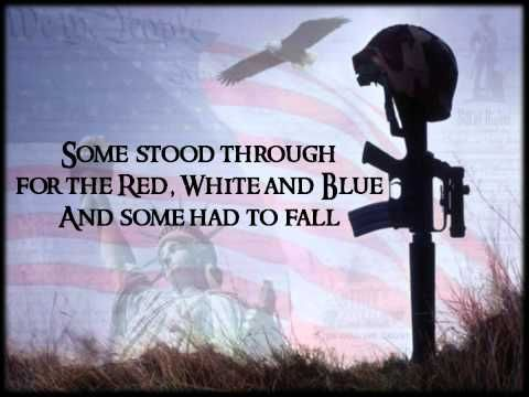 Some Gave All  Our Military and Millitary families (Thank you, thank you. and thank you does not begin to express our gratitude!) America, they fought for OUR FREEDOM....LET'S NOT MAKE IT IN VAIN! - Billy Ray Cyrus