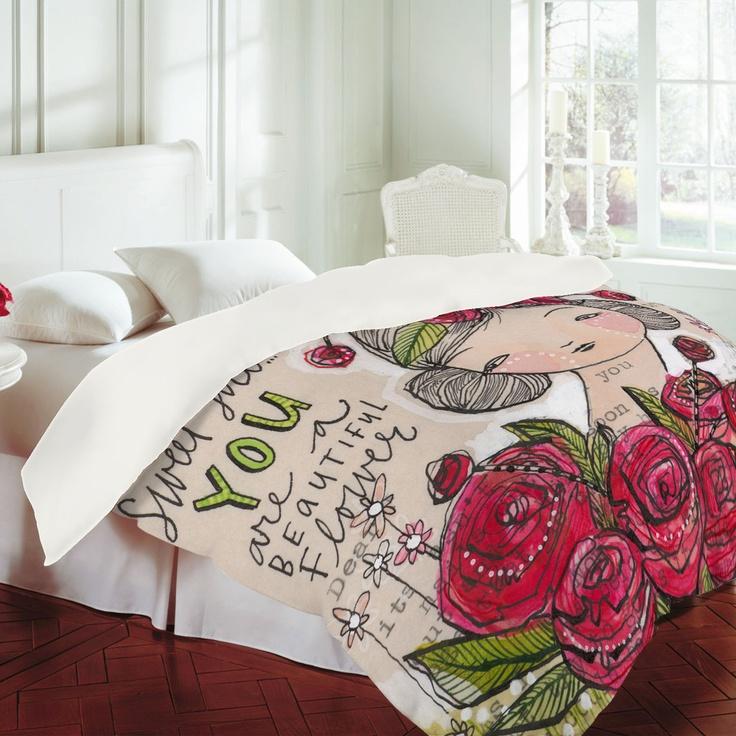 Die besten 25+ Girls duvet covers Ideen auf Pinterest Teenager - vintage schlafzimmer einrichten verspielte blumenmuster als akzent