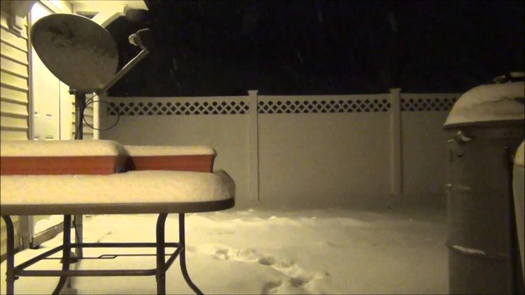 Snow Time Lapse - Jan 21, 2014 California, MD (+playlist)