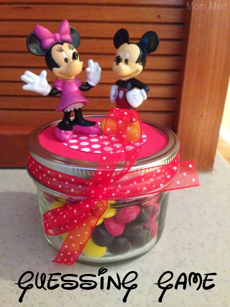 Mini Mouse Themed Birthday Party Games - Guessing Game
