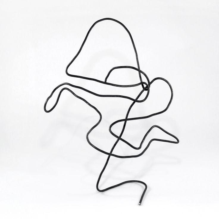 Abstract №3 --- #abstract #surreal #wire #art #arts #arte #artsy #artsyfartsy #artwork #artworks #wireart #wiresculpture #sculpture #wirework #handmade #figure #forms #geometry #homedecor #design #artdeco #artdecor #originalwork #originalartwork #creative #original #strange #fineart #modernart #metalart