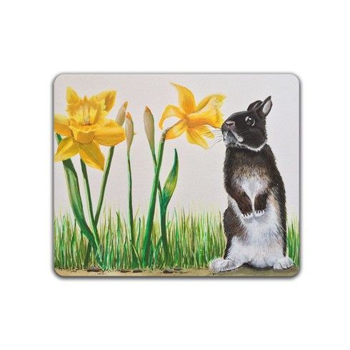 Spring Bunny Placemat by karenelaineevans at zippi.co.uk