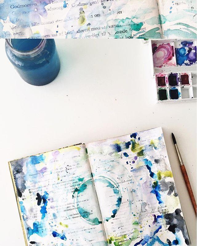 @imapapernerd | Season of Introspection | Get Messy Art Journal