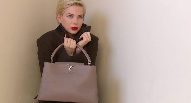 За кулисами съемок рекламной кампании Louis Vuitton с Мишель Уильямс