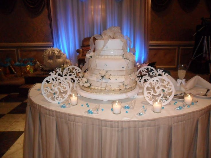 Cinderella Carriage Wedding Cake Stands