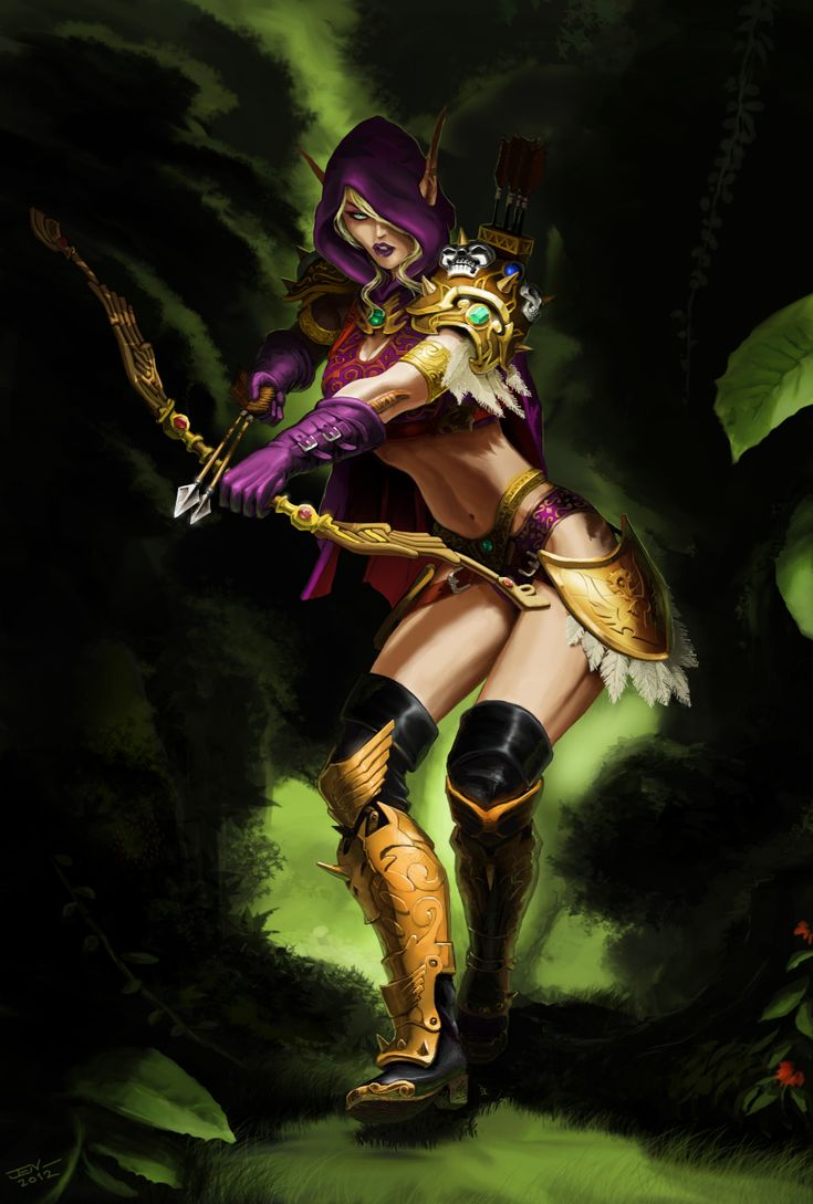 Blood elf hunter nsfw photos