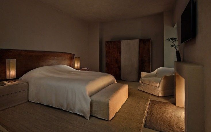 Axel Vervoodt, Greenwich Hotel Tribeca Penthouse, Master Bedroom