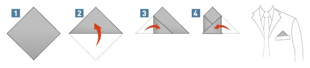 How to Fold a One-Corner-Up-Fold