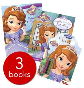 Sofia the First Activity Collection - 3 books (Collection) - http://tinyurl.com/yb7bxwao