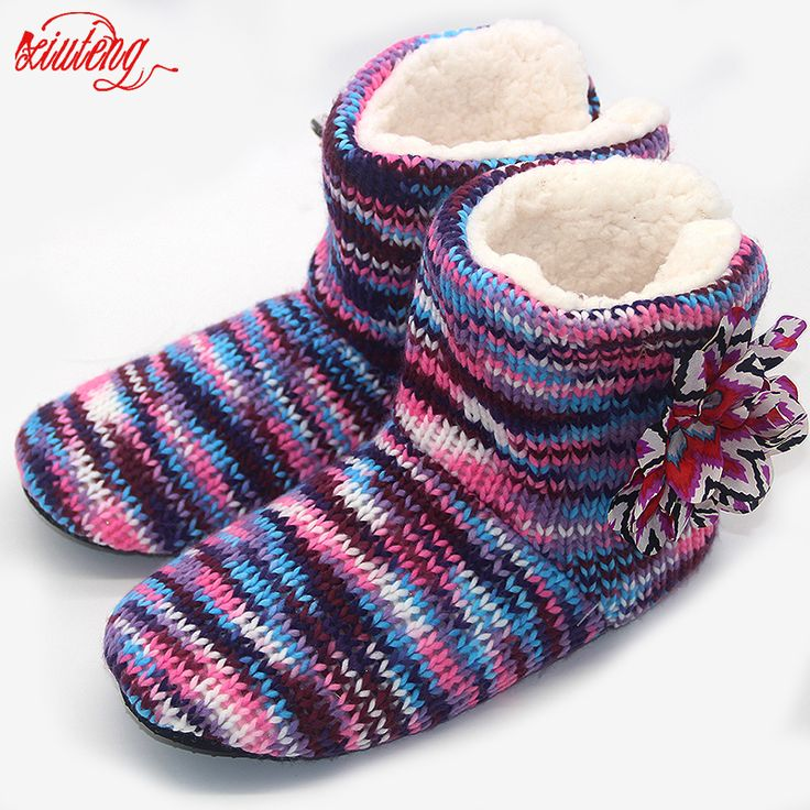 Cheap shoe gems, Buy Quality shoes louboutin directly from China slippers best Suppliers: Hot 2017 Winter Warm Slippers Adult Men And Women Winter Household Slipper Soft Non-Slip Thicken Plush Home Indoor Floor Shoes