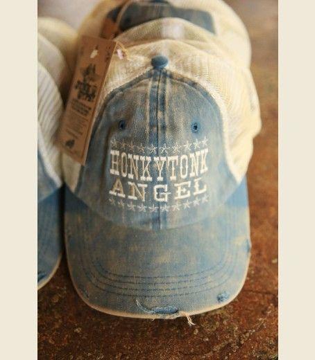Honkytonk Angel Trucker cap {junk gypsy co}