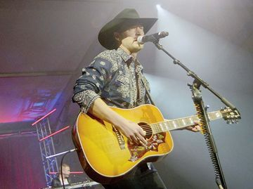 Paul Brandt performs during last year's 24th Magna Wild Wild West Hoedown.