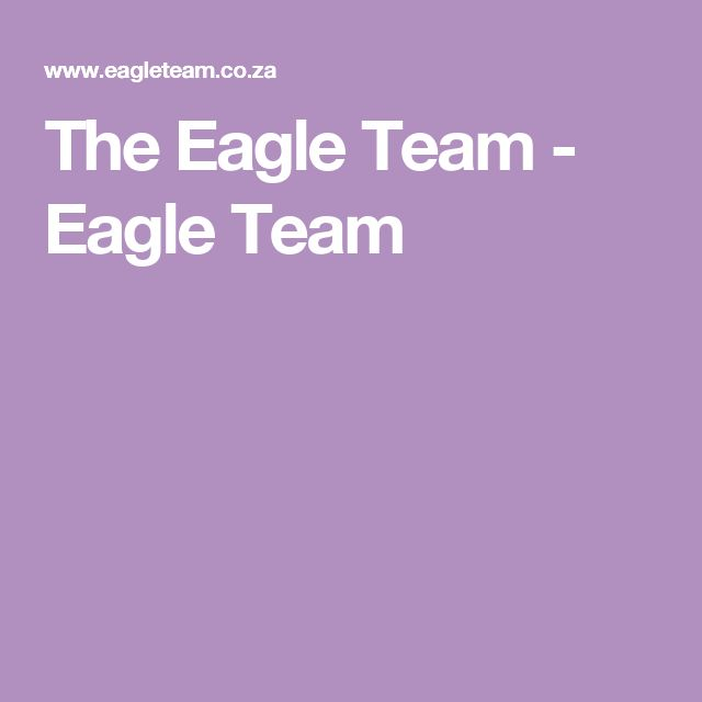 The Eagle Team - Eagle Team