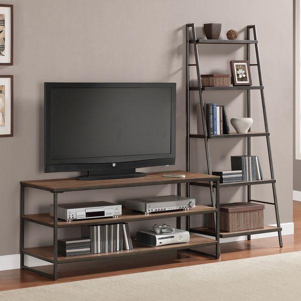 Las 25 mejores ideas sobre mueble tv en pinterest tv - Como hacer una mesa estilo industrial ...