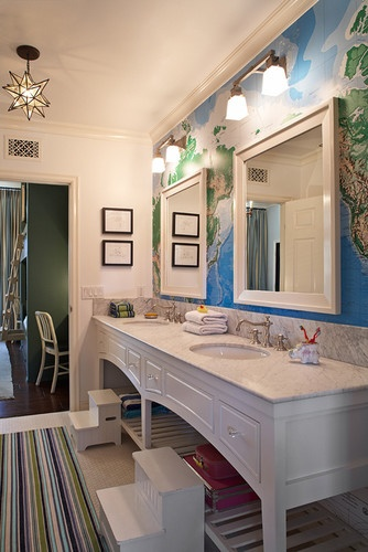 not sure about in the bathroom though kidspaces by tbl eclectic kids los angeles tim barber ltd architecture interior design