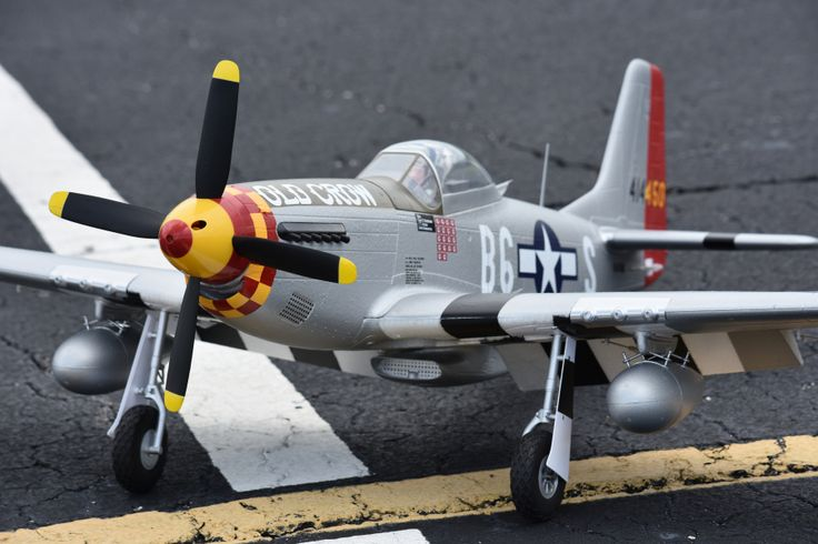 Eleven Hobby P-51D P51D Mustang Old Crow 1100mm 43 Wingspan PNP