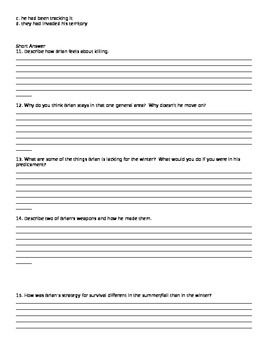 brians winter essay Brian's winter by gary paulsen (grades 5-8) literature unit daily reading journal go beyond a simple book report see the progress your students make while they.