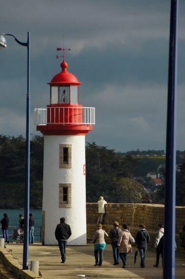 Le phare du port d'Erquy