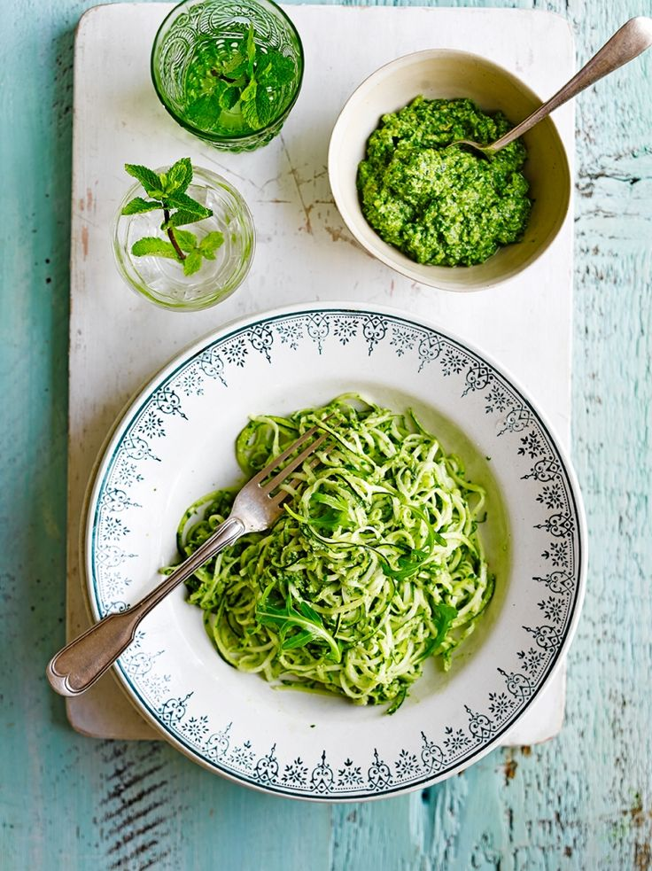 Courgette 'Spaghetti' | Vegetable Recipes | Jamie Oliver