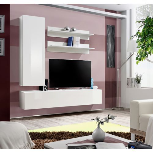 ... Meuble Tv on Pinterest Achat meuble, Tv murale and Meuble tv blanc