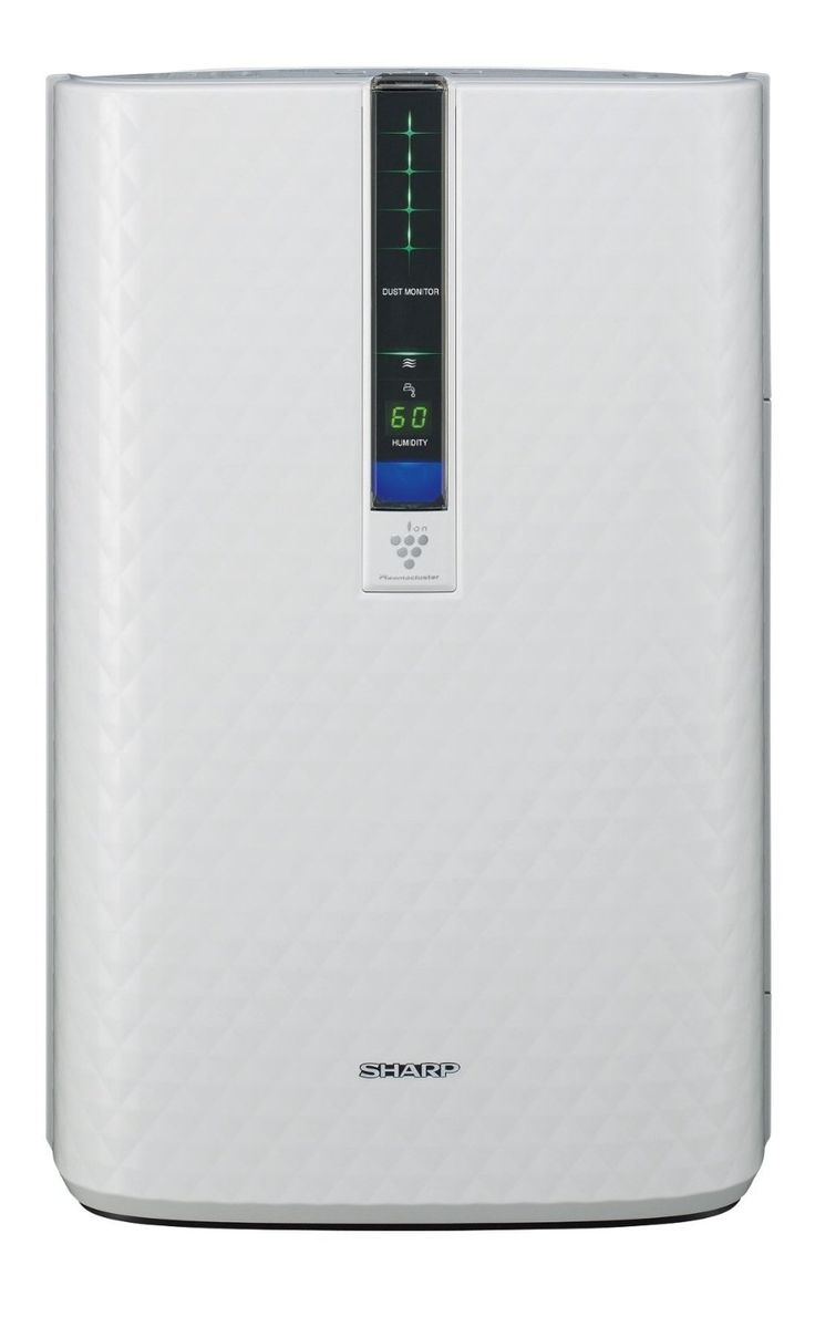 Amazon.com - Sharp KC-850U Plasmacluster Air Purifier with Humidifying Function - Air Purifier Humidifier Combo  A lot less dust around with this thing.