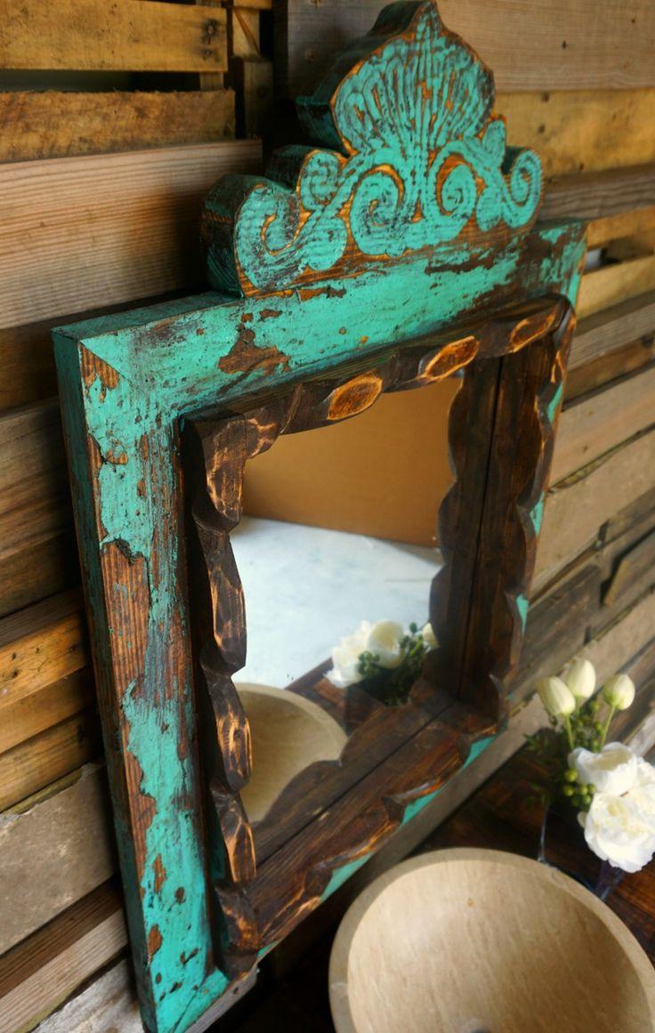 Agave Vanity Mirror - Sofia's Rustic Furniture